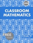 Picture of Classroom Mathematics Grade 10 Teacher's Guide & Free CD (CAPS)