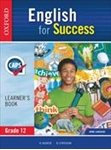 Picture of English for Success Home Language Grade 12 Learner's Book