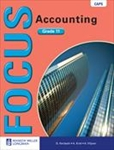 Picture of Focus Accounting Grade 11 Learner's Book (CAPS)