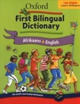 Picture of Oxford First Bilingual Dictionary Afrikaans & English
