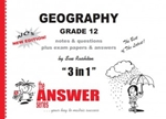 Picture of The Answer Series Gr 12 Geography 3-in-1