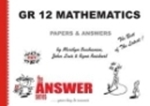 Picture of The Answer Series GR 12 P1 & P2 MATHEMATICS 2-in-1