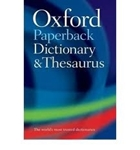 Picture of Oxford Paperback Dictionary and Thesaurus 3e