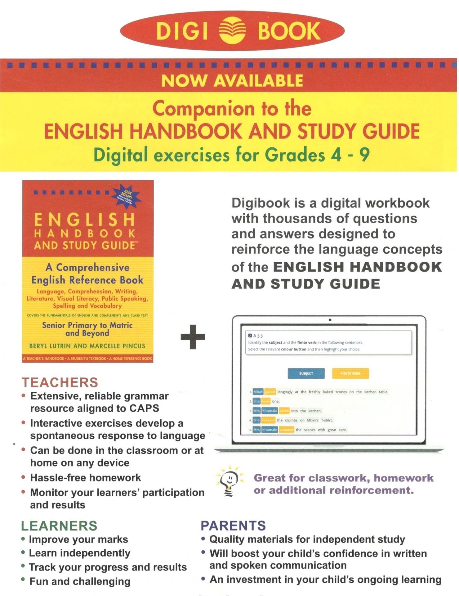 ... English Study Guides /; Digi Book. Picture of Digi Book
