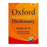 Picture of Oxford Mathematics Dictionary  Gr 10 to Gr 12
